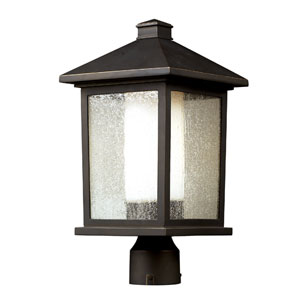 Mesa One-Light Oil Rubbed Bronze Outdoor Post Mount Light