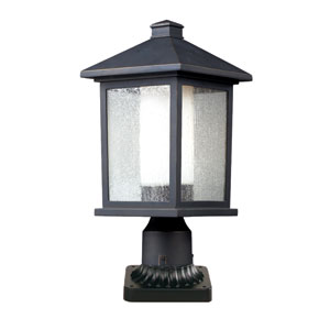 Mesa Oil Rubbed Bronze One-Light Outdoor Pier Mount