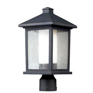 Mesa Oil Rubbed Bronze One-Light Outdoor Post Mount