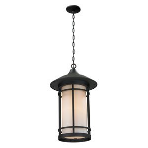 Woodland Black Outdoor Chain Light