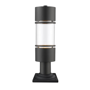 Luminata Oil Rubbed Bronze One-Light Outdoor LED Pier Mount
