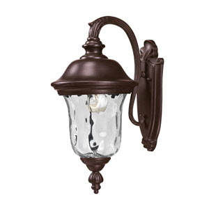 Armstrong One-Light Rubbed Bronze Outdoor Wall Light