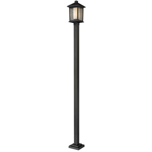 Mesa One-Light Large Oil Rubbed Bronze Outdoor Post Light
