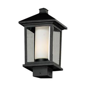 Mesa One-Light Medium Black Outdoor Post Mount Light