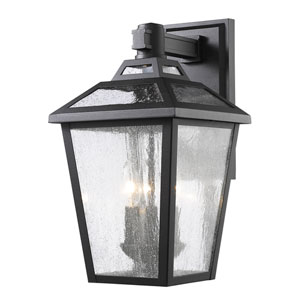 Bayland Black Nine-Inch Outdoor Wall Sconce