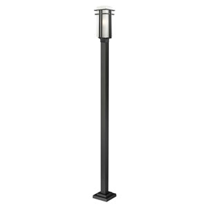 Abbey Black Outdoor Post Light