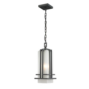 Abbey Outdoor Rubbed Bronze Outdoor Chain Light