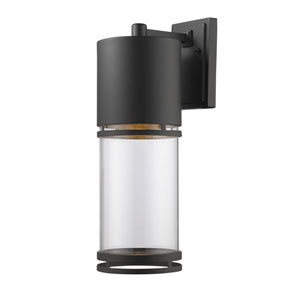 Luminata Oil Rubbed Bronze 8.5-Inch One-Light Outdoor LED Wall Sconce