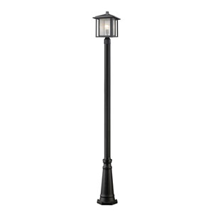 Aspen Black 11-Inch One-Light Outdoor Post Light