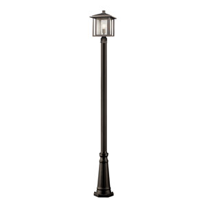 Aspen Oil Rubbed Bronze 11-Inch One-Light Outdoor Post Light