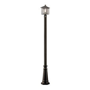 Aspen Oil Rubbed Bronze 10-Inch One-Light Outdoor Post Light
