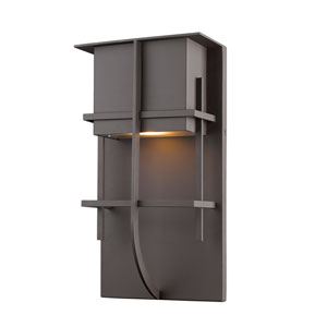 Stillwater Deep Bronze 8-Inch One-Light LED Outdoor Wall Light
