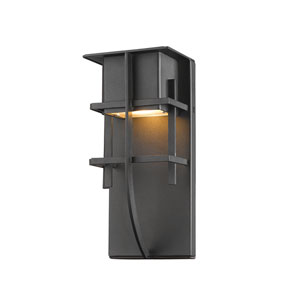 Stillwater Black 5-Inch One-Light LED Outdoor Wall Light