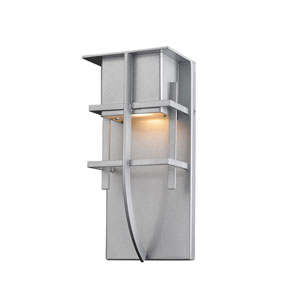Stillwater Silver 5-Inch One-Light LED Outdoor Wall Light