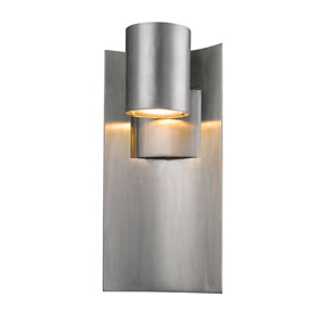 Amador Silver 7-Inch One-Light LED Outdoor Wall Light