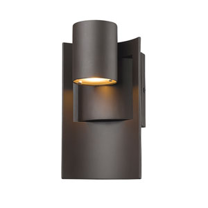 Amador Deep Bronze 5-Inch One-Light LED Outdoor Wall Light