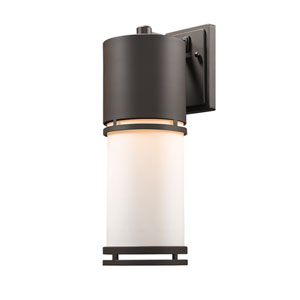 Luminata Deep Bronze 18-Inch LED Outdoor Wall Mount