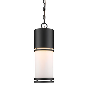 Luminata Black LED Outdoor Pendant