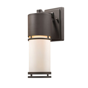 Luminata Deep Bronze 14-Inch LED Outdoor Wall Mount