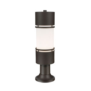 Luminata Deep Bronze 23-Inch LED Outdoor Post Light