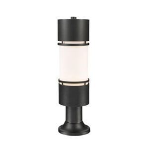 Luminata Black 23-Inch LED Outdoor Post Light