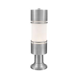 Luminata Brushed Aluminum 23-Inch LED Outdoor Post Light