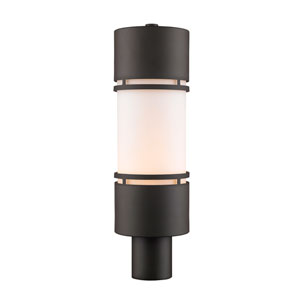 Luminata Deep Bronze 20-Inch LED Outdoor Post Light