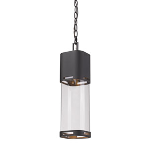 Lestat Black LED Outdoor Pendant