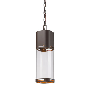 Lestat Deep Bronze 18-Inch LED Outdoor Pendant
