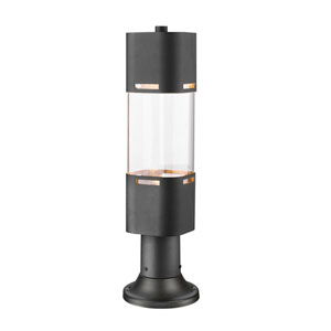Lestat Black 23-Inch LED Outdoor Post Light