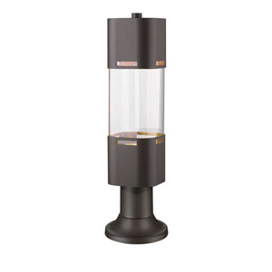 Lestat Deep Bronze 23-Inch LED Outdoor Post Light