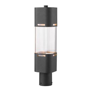 Lestat Black 20-Inch LED Outdoor Post Light