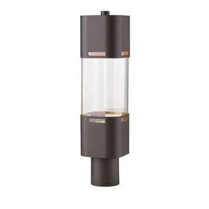 Lestat Deep Bronze 20-Inch LED Outdoor Post Light