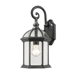 Annex Black One-Light  Outdoor Wall Lantern