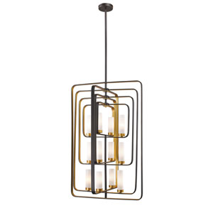 Aideen Bronze Gold 12-Light Pendant
