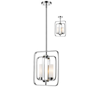Aideen Chrome Two-Light Pendant