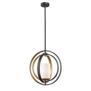Ashling Bronze Gold 14-Inch One-Light Pendant
