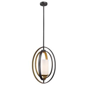 Ashling Bronze Gold 11-Inch One-Light Pendant