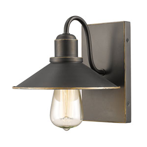 Casa Olde Bronze One-Light Vanity Fixture