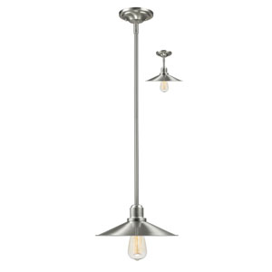 Casa Brushed Nickel Outdoor Pendant