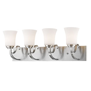Halliwell Brushed Nickel Four-Light Vanity
