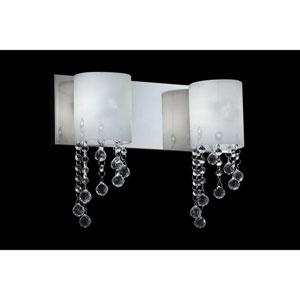 Jewel Chrome Two-Light LED Bath Vanity