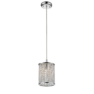 Terra Chrome One-Light Mini Pendant