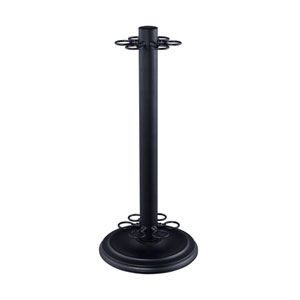 Matte Black Billiard Cue Stand