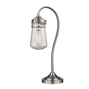 Celeste Brushed Nickel One-Light Table Lamp