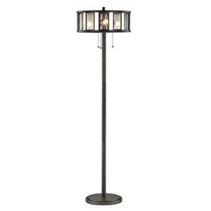 Juturna Bronze Three-Light Floor Lamp