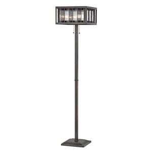 Meridional Bronze Three-Light Floor Lamp