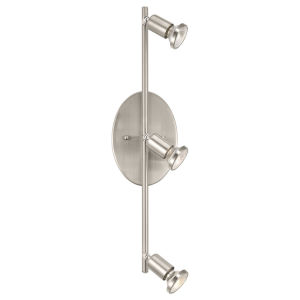 Buzz Brushed Nickel Four-Light Track Light
