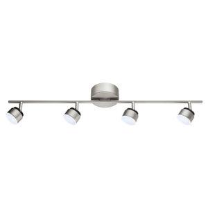 Armento 1 Matte Nickel Four-Light LED Track Light