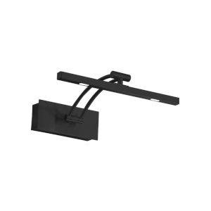 Doreen 1 Matte Black Nine-Inch 3.4Watt Two-Light LED Picture Light